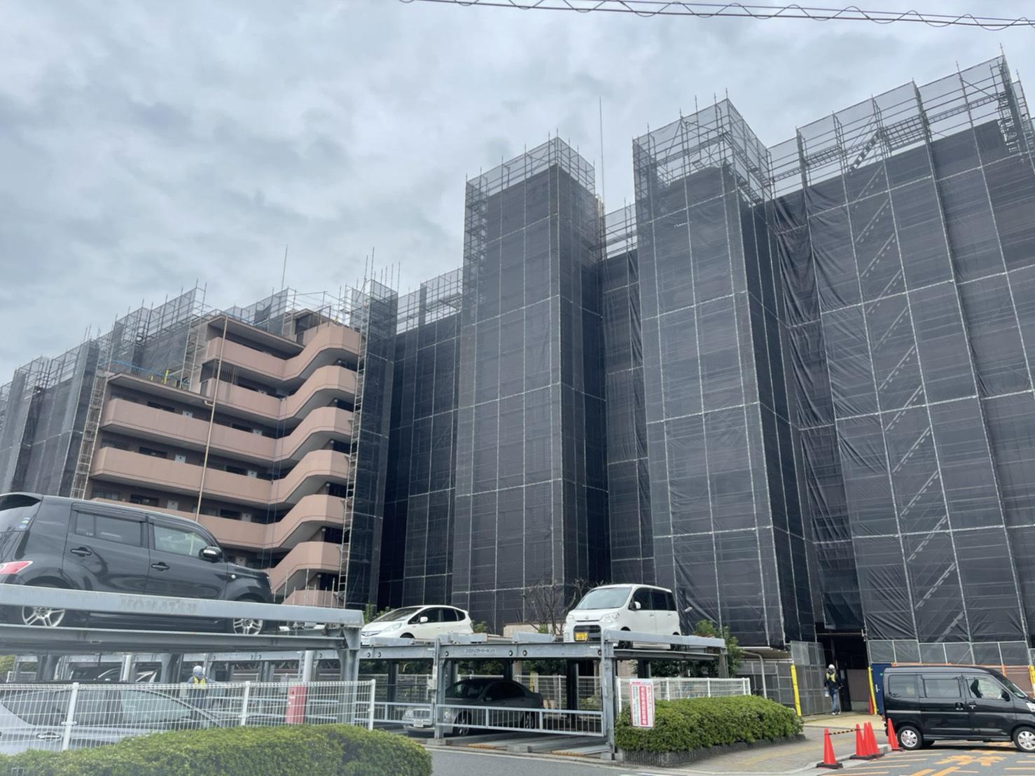 岸和田市 足場組み立て画像